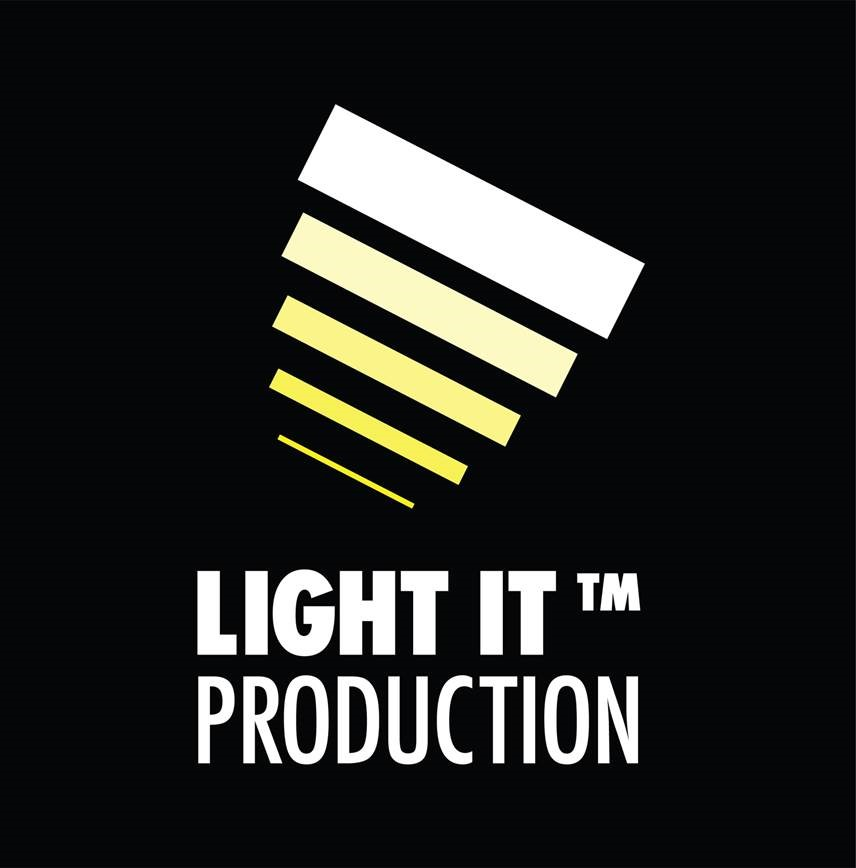 Logotyp för Light it Production AB